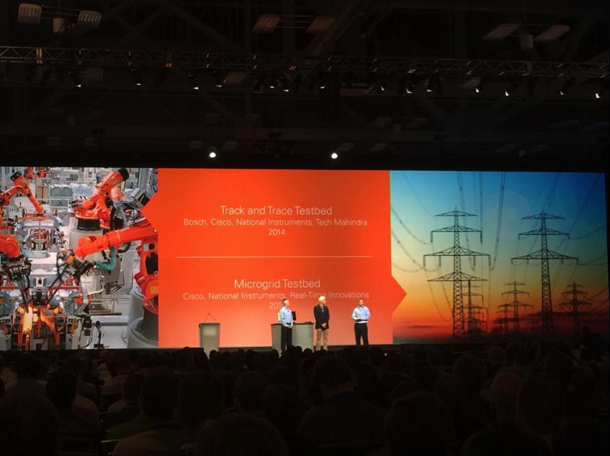 Cisco featuring RTI in their NI/IIC demo